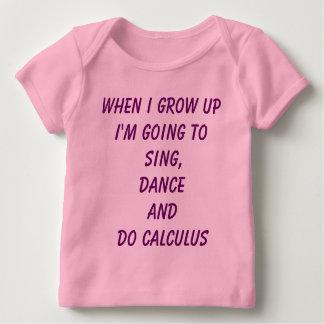 T-shirt Pour Bébé Faites le calcul - pièce en t de bébé de puissance