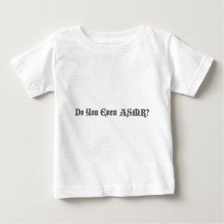 T-shirt Pour Bébé Faites-vous même ASMR ?