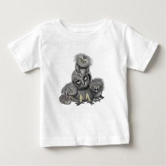 T-shirt Pour Bébé Famille de hibou
