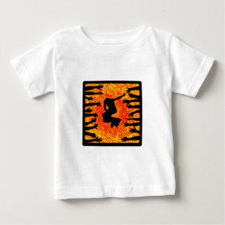 T-shirt Pour Bébé Fans de rouleau