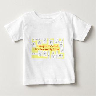 T-shirt Pour Bébé Fente de café