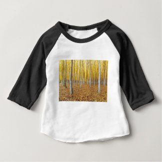 T-shirt Pour Bébé Ferme d'arbre de peuplier dans Boardman Orégon