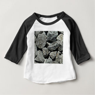 T-shirt Pour Bébé fermez-vous du gravier