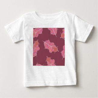 T-shirt Pour Bébé feuille de prune