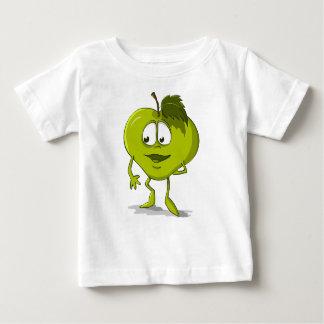 T-shirt Pour Bébé Feuille drôle de personnage de dessin animé de