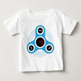 T-shirt Pour Bébé Fileur de personne remuante de centre technique
