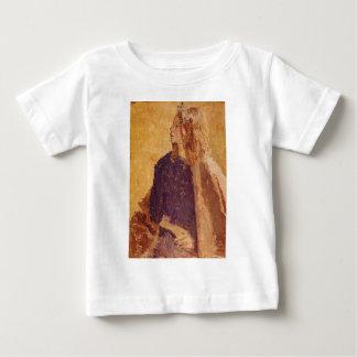 T-shirt Pour Bébé Fille d'art de post impressionnisme dans le profil