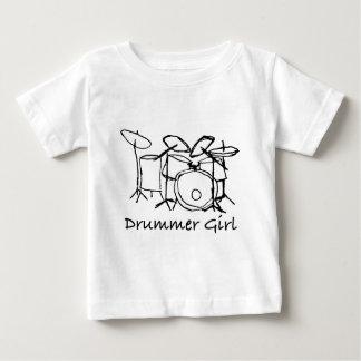 T-shirt Pour Bébé Fille de batteur