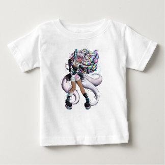 T-shirt Pour Bébé Fille de Kitsune de Cyber