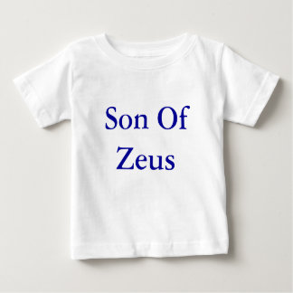 T-shirt Pour Bébé Fils de dessus de bébé de Zeus