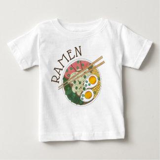 T-shirt Pour Bébé Fin gourmet japonais de restaurant de nourriture