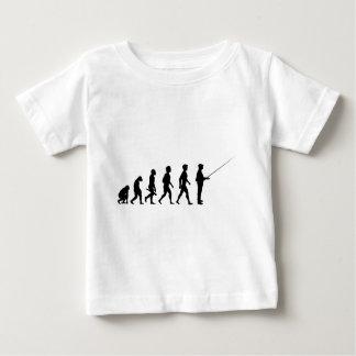 T-shirt Pour Bébé Fisher Fisherman Fishing Carp Trout