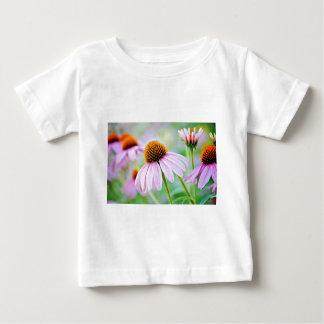T-shirt Pour Bébé Fleur sauvage coloré d'echinacée