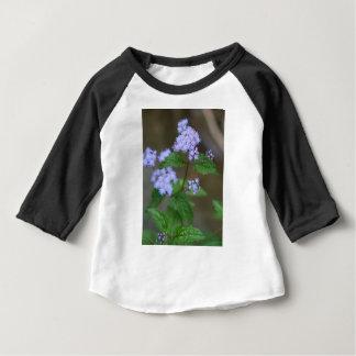 T-shirt Pour Bébé Fleurs sauvages sauvages d'Ageratum de lavande de