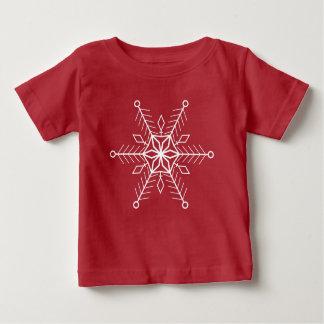 T-shirt Pour Bébé Flocon de neige