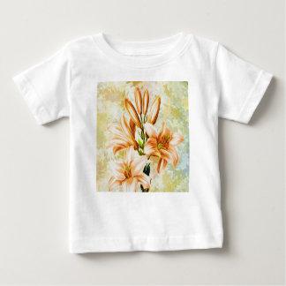 T-shirt Pour Bébé Floral, art, conception, beau, nouvelle, mode,