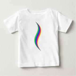 T-shirt Pour Bébé Flourish d'arc-en-ciel