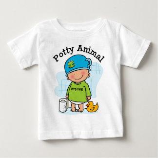 T-shirt Pour Bébé Folle chemise animale de garçon
