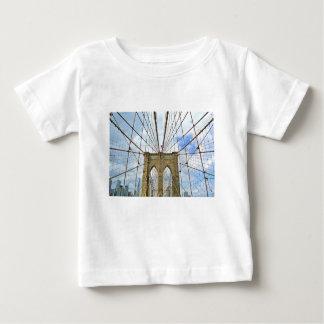 T-shirt Pour Bébé Fondation de ville de New York Brooklyn de pont