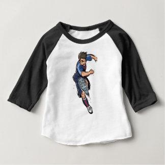T-shirt Pour Bébé Footballeur