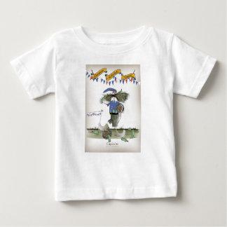 T-shirt Pour Bébé footballeur français de capitaine