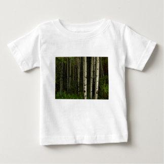 T-shirt Pour Bébé Forêt blanche