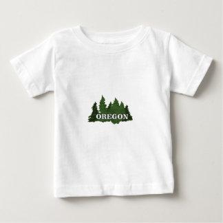 T-shirt Pour Bébé Forêt de l'Orégon