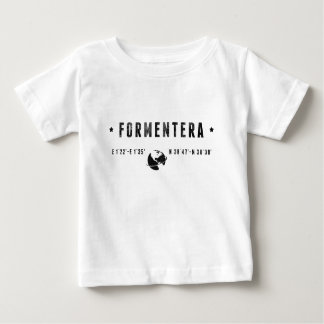 T-shirt Pour Bébé Formentera