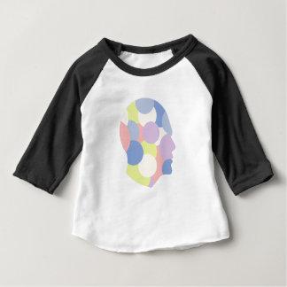 T-shirt Pour Bébé Formes géométriques à l'intérieur de conception
