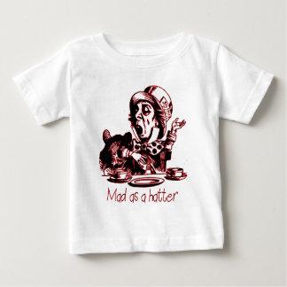 T-shirt Pour Bébé Fou comme habillement de chapelier