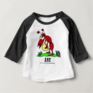 T-shirt Pour Bébé Fourmi par l'artiste italien Lorenzo Traverso