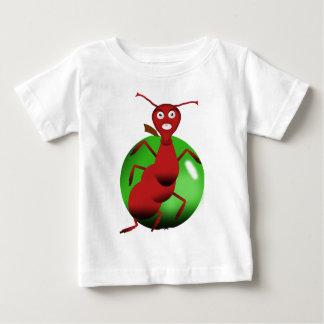T-shirt Pour Bébé fourmi rouge