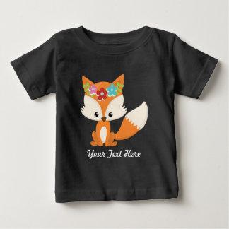 T-shirt Pour Bébé Fox d'automne de Boho