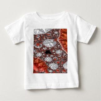 T-shirt Pour Bébé Fractale 3 de diamants à l'état brut