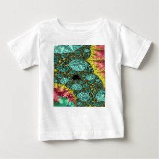 T-shirt Pour Bébé Fractale de diamants à l'état brut