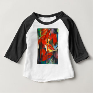 T-shirt Pour Bébé Franz Marc les renards