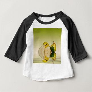 T-shirt Pour Bébé Fruit vert frais de poires