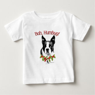T-shirt Pour Bébé Fumisterie de Boston Terrier Bah