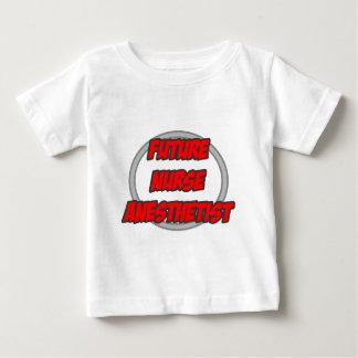 T-shirt Pour Bébé Futur anesthésiste d'infirmière