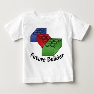 T-shirt Pour Bébé Futur constructeur - blocs constitutifs