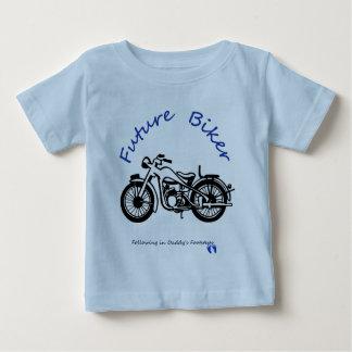 T-shirt Pour Bébé Futur cycliste