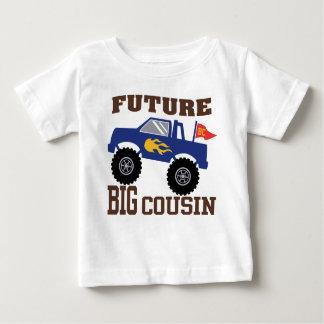 T-shirt Pour Bébé Futur grand camion de monstre de cousin