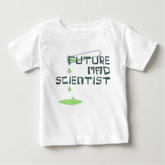 T-shirt Pour Bébé Futur scientifique fou