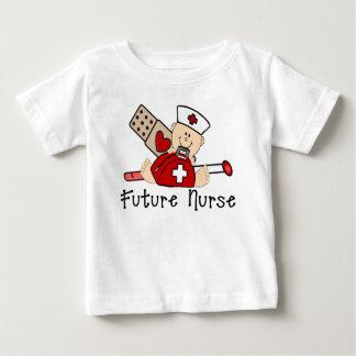 T-shirt Pour Bébé Future infirmière