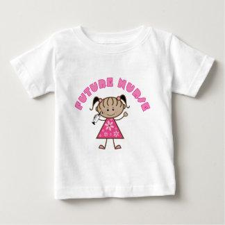T-shirt Pour Bébé Future infirmière mignonne