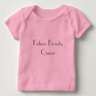 T-shirt Pour Bébé Future reine de beauté