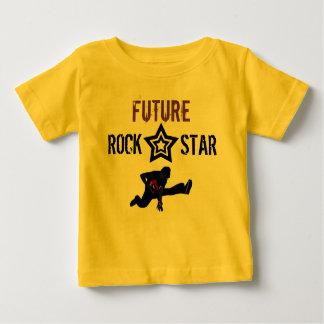 T-shirt Pour Bébé Future vedette du rock pour le bébé