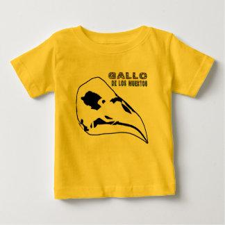 T-shirt Pour Bébé Gallo De Los Muertos
