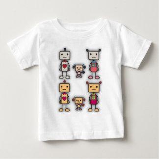 T-shirt Pour Bébé Garçon de robot, fille de robot, chien de robot