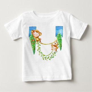 T-shirt Pour Bébé Garçon de singe